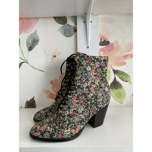 Anthropologie x Jeffrey Campbell Tapestry Boots
